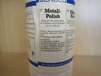 Schüco Reiniger für Eloxal- und Edelstahl Nr.298010 Eloxalreiniger Metall-Polish