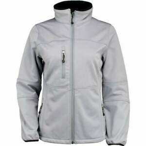 River-039-s-End-Soft-Shell-Jacket-Athletic-Outerwear-Grey-Womens