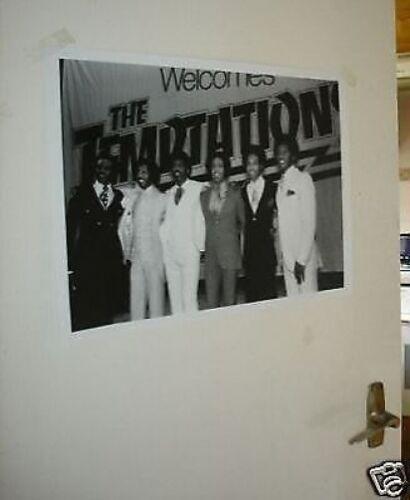 THE TEMPTATIONS PARTY NY /'77 Poster NEW