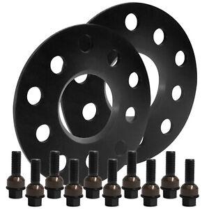 Blackline-Spurverbreiterung-10mm-mit-Schrauben-schwarz-Porsche-Panamera-970