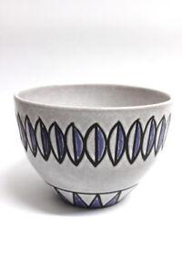 Keramik-Skandinavien-Design-60er-Jahre-Schuessel-H-12-D-17
