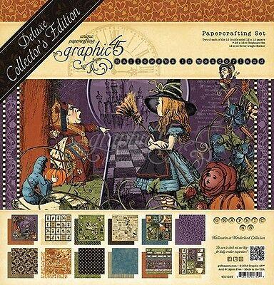 NEW  Graphic 45  Papercrafting Set Deluxe Halloween in Wonderland