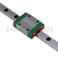 Mgn9 6mm Bore Dia Bearing Steel Miniature Linear Sliding Rail Guide 400mm