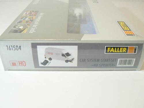 Faller H0 161504 neu Car System Start-Set MB Sprinter