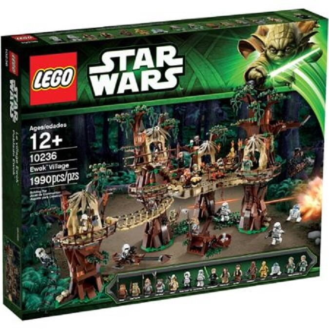 conveniente LEGO Estrella Guerras Ewok Village Play Set Set Set 10236,Bre nuovo Sealed Sold Out UCS  ordinare on-line