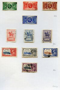 1935-23-Silver-Jubilee-mainly-complete-sets-used-on-8-pages-2020-01-29-04