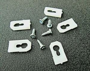 For 1968 1969 1970 1970 1972 Chevy Chevelle Vinyl Top Moulding Clips 20 Ebay