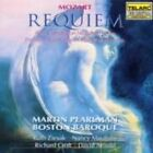 Requiem Mass K626 Pearlman Boston Baroque 0089408041020 by Mozart CD