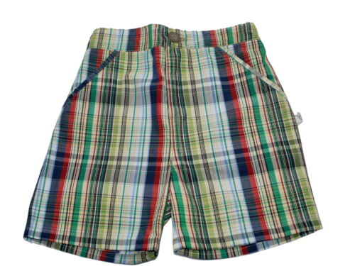 Marie Chantal Baby Boy Green Check Shorts NEW Various Sizes
