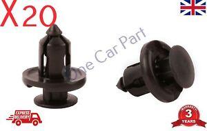 20x Honda Civic Crv Accord Integra Jazz Pare-chocs Clip 91503-sz3-003 91503sz3003-afficher Le Titre D'origine MatéRiaux De Choix