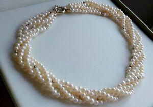 72g-sterling-silver-925-senorita-clasp-Arezzo-521-AR-choker-collar-necklace