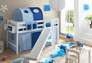 Etagenbett Mit Rutsche Weiß : Kinder hochbett rutsche schreibtisch weiss ausgezeichnet