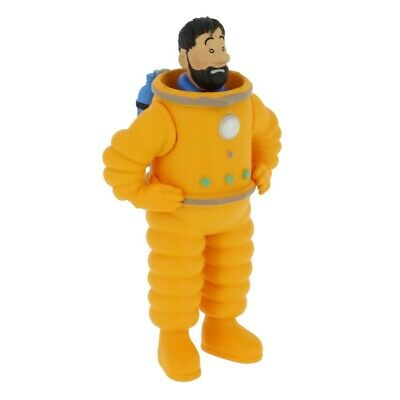 Collectible figurine Tintin in astronaut 8cm Moulinsart 42505 2019