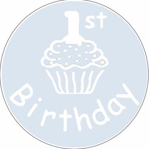Numbered Birthday Stickers Designer Labels Birthday Invitation Seals gold x 100