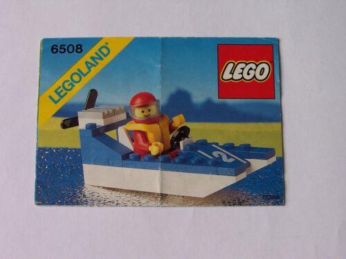 Instrucción LEGO® 6508 instrucción no