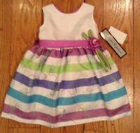 Jayne Copeland Infant Dress 24 Mo. W Diaper Cover.