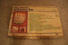 Greenleaf Vintage The Pierce Dollhouse Wooden Kit Complete In Box