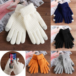 Gants-en-laine-tricotes-a-la-main-pour-epaissir-les-doigts-avec-ecran-tactile