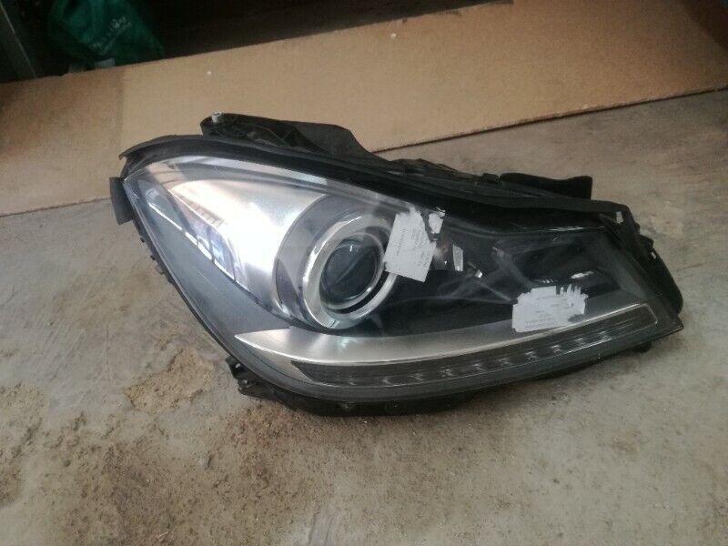 Mercedes W204 facelift xenon headlight
