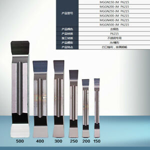 MGGN500-JM P6215 5mm carbide inserts For Steel and cast iron 10pcs