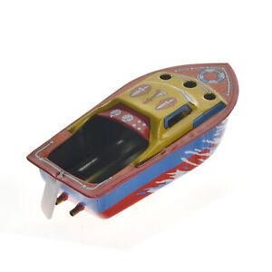 Barco-De-Vapor-Retro-velas-alimentado-poner-nave-Coleccionable-Clasico-Juguete