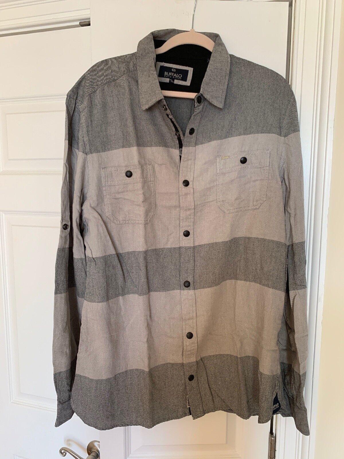 Buffalo David Bitton Cannon Combo Casual Shirt Size XXL