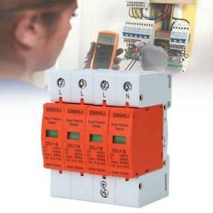 40kA 4-Polig Haus Kombiableiter /Überspannungsschutz Niederspannungs /Überspannungsableiter Blitzschutz AC 385V Ableiter
