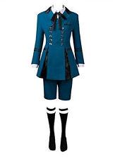Black Butler 2 Ciel Phantomhive BEST Outfits Halloween Cosplay Costume