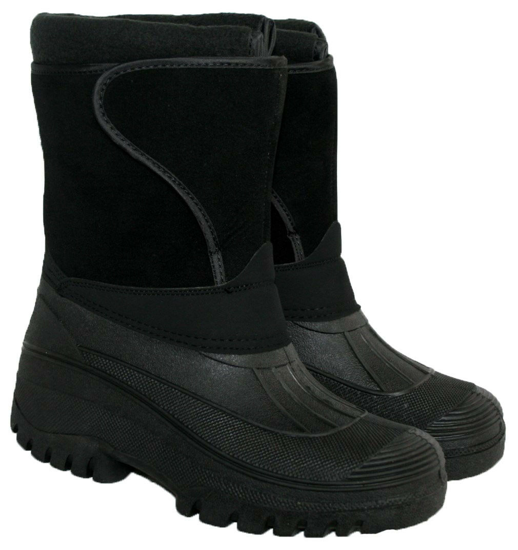 more photos f095d d82f4 LADIES BLACK MUCKER BOOT WITH TOUCH CLOSE AND WARM LINING SIZES 4-8 STRAP  onykvy1365-Women s Boots