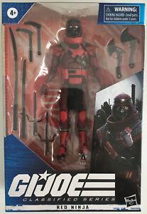 G.I. Joe Classified Series Red Ninja Action Figure Hasbro