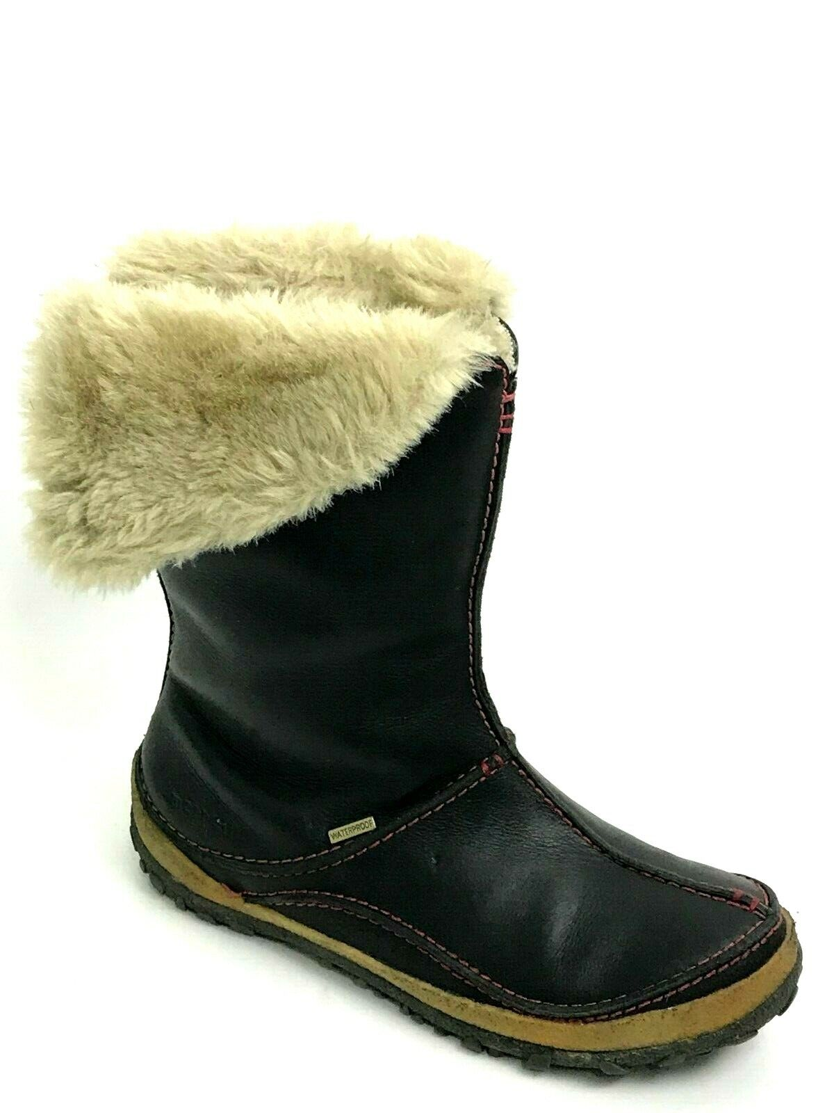 Merrell Olso Noir étanche Bottes de neige Taille  US.7 EU.37.5 UK.4.5