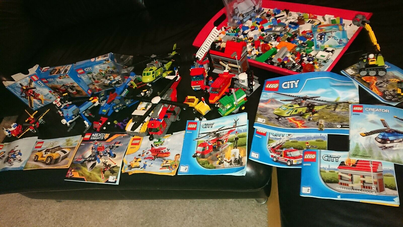 Lego City Creator 9 x Gemischt 7032, 60123