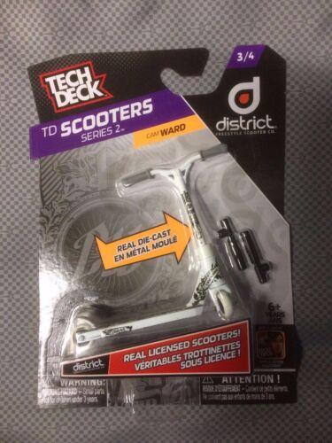 TECK DECK SCOOTER SERIES 2 DISTRICT 3//4 TD SUPER RARE CAM WARD MINT
