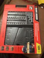 Black & Decker 109 Pieces Basic Project Set
