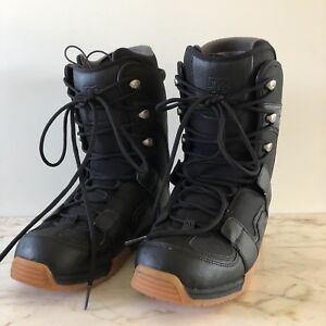 4e88712dc32d Image is loading DC-Shoes-Black-Snowboard-Boots