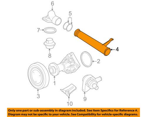 GM OEM Water Pump-Outlet Pipe 90411629