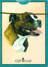 """""""Staffordshire Bull Terrier"""" Dog Breed Poker Game Deck Of Playing Cards *New*"""