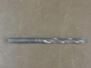 9//16 x 12 OAL HSS Extra Long Drill Bit Straight Shank