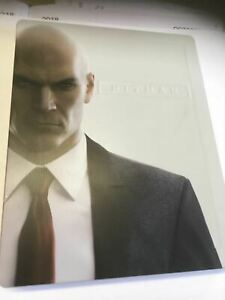 HITMAN-First-Season-G2-Steel-Book-Case-Only-for-PS4-Xbox-One-NO-GAME-Steelbook