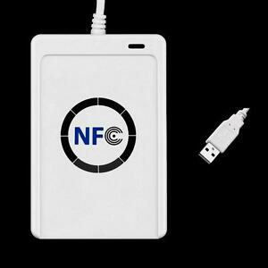 Details about NFC ACR122U RFID Contactless Smart Reader & Writer/USB + 5pcs  Mifare IC Card FZ