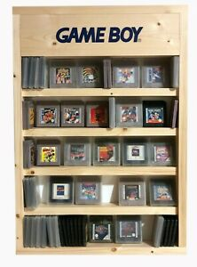 Gameboy And Gameboy Colour Cartridge Display Case Handmade Holds Upto 135 Games