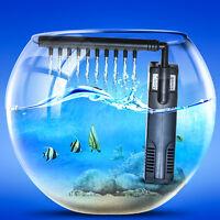 Aquarium Internal Filter 3-in-1 Multi-function 80 Gph Fishtank Submersible Pump