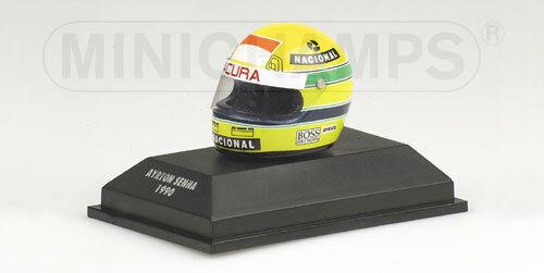 Carnaval ultime, le prix ultime McLaren Honda 1990 Ayrton Senna Helmet Casque 1.8 replica !   Terrific Value