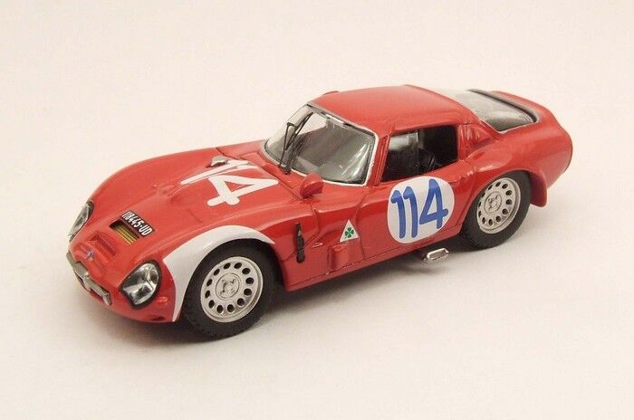 MODEL BEST 9441 - Alfa romeo TZ2 1966 1966 1966 N°114  1 43 54e