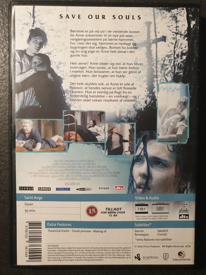 House Of Voices (Originaltitel: Saint Ange), instruktør