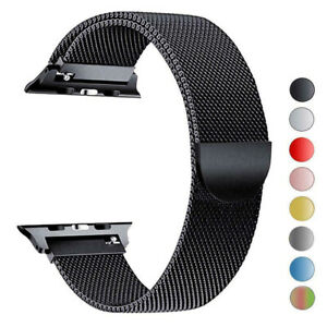 Apple-Watch-Band-Series-SE-6-5-4-3-2-1-Milanese-Magnetic-Stainless-Loop-Strap-44