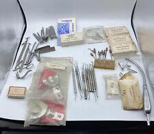 New Listingvintage Hu Friedy American Parnell Dental Stainless Steel Tools Matrix Picks