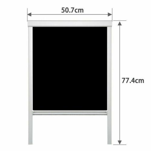 Verdunkelungsrollo 100/% Thermo-Rollo Dachfensterrollo für GGL GGU GHLfür Velux
