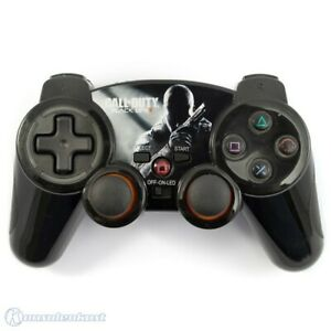 PS3-Wireless-Controller-Pad-mit-LED-Call-of-Duty-Black-Ops-II-Edition