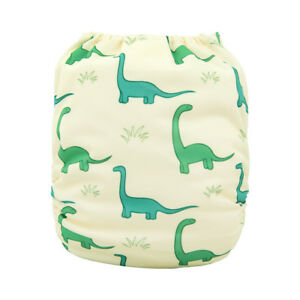 ALVA-Baby-One-Size-Cloth-Diaper-Reusable-Washable-Pocket-Nappy-With-Insert
